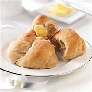 Overnight Honey-Wheat Rolls Recipe