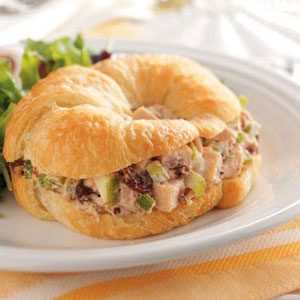 Cherry-Chicken Salad Croissants