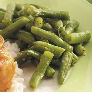 Tangy Italian Green Beans Recipe