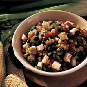 Quick Black Bean and Corn Salad