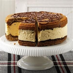 Giant Peanut Butter Ice Cream Sandwich Recipe photo by Taste of Home