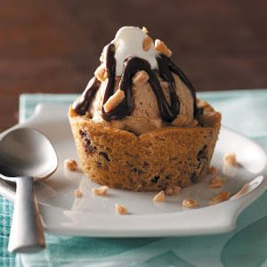 Coffee Ice Cream Cookie Cups Recipe