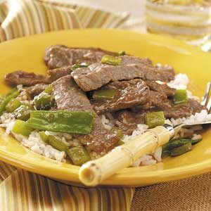 Teriyaki Beef Stir-Fry for 2 Recipe