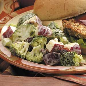 Waldorf Salad with Broccoli Recipe