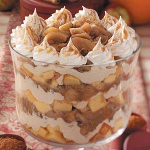 Caramel Apple Trifle Recipe