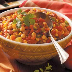 Veggie Bean Casserole Recipe