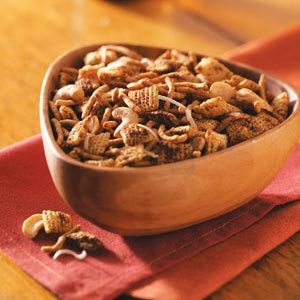 Crispy Snack Mix Recipe