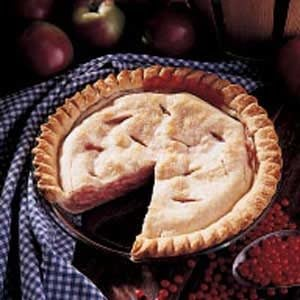 Blushing Apple Cream Pie Recipe