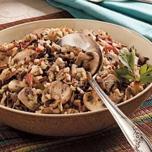 Mushroom Rice Medley Recipe
