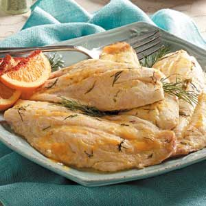 Citrus Baked Fish Recipe