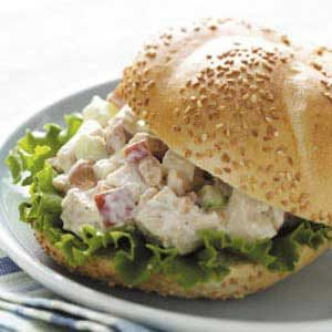 Cashew Chicken Salad Sandwiches Recipe