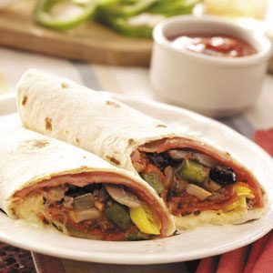 Supreme Pizza Tortillas Recipe