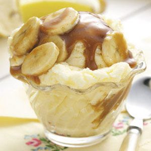 Banana Caramel Topping Recipe