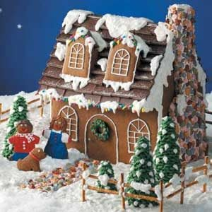 Cape Cod Gingerbread Cottage Recipe