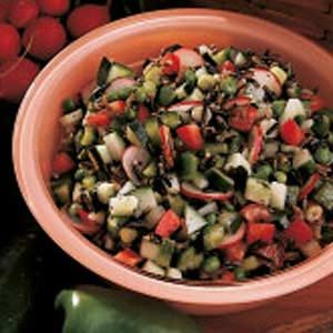 Minty Rice Salad Recipe
