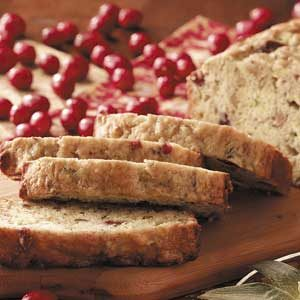 Zucchini Cranberry Bread Recipe