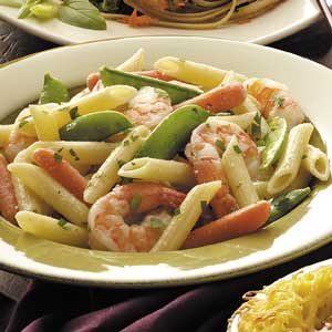 Penne Primavera with Shrimp Recipe