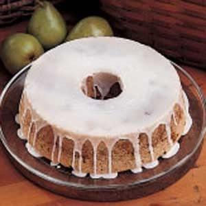Fresh Pear Cake Recipe