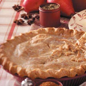 Double-Crust Pear Pie Recipe