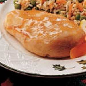 Quick Apricot Glazed Chicken Recipe