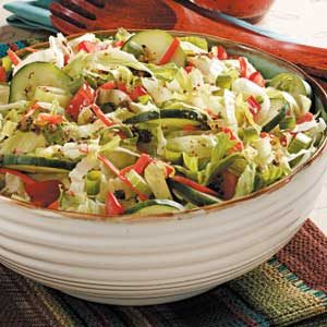 Contest-Winning Garden State Salad Recipe