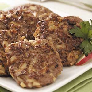 Savory Apple-Chicken Sausage