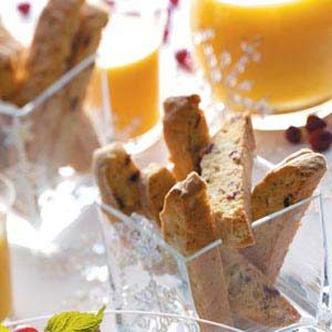 Cranberry-White Chocolate Biscotti Recipe