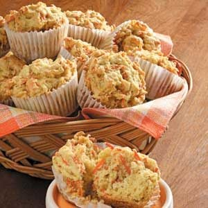 Orange Carrot Muffins Recipe