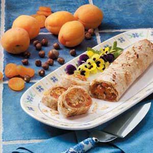 Hazelnut Apricot Strudel Recipe