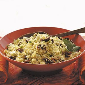 Couscous with Feta 'n' Tomatoes Recipe