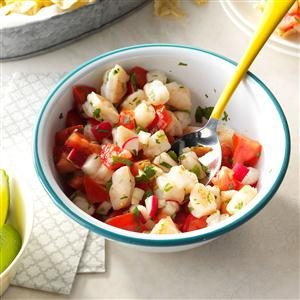 Spicy Shrimp Salsa Recipe