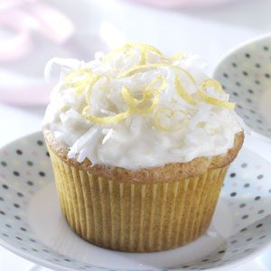 Lemon Coconut Cupcakes Recipe