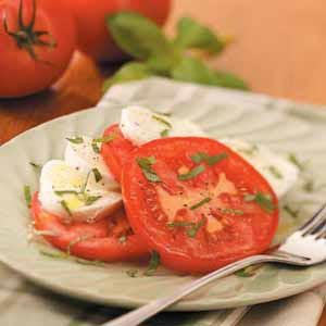 Fresh Mozzarella Tomato Salad Recipe
