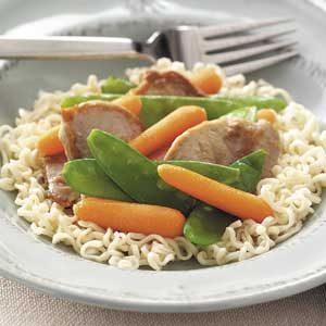 Quick Pork Lo Mein Recipe