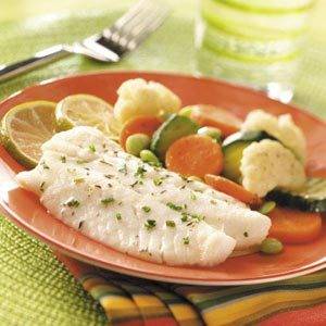 Vegetable Fish Dinner Recipe