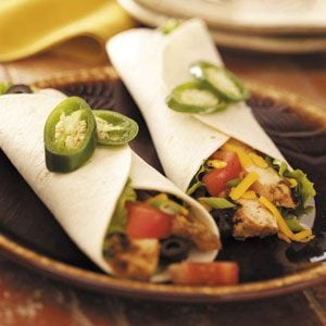 Grilled Chicken Wraps Recipe