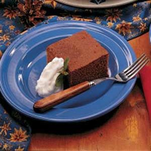 Hot Water Gingerbread Recipe