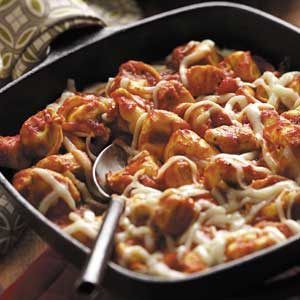 Chicken Tortellini Skillet Recipe