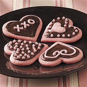 Strawberry Valentine Cookies Recipe