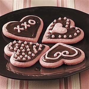 Strawberry Valentine Cookies Recipe