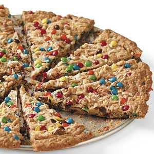 Oatmeal Cookie Pizza Recipe