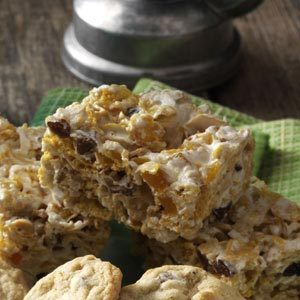 Fruit & Nut Cereal Bars Recipe