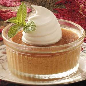 Pumpkin Pie Custard Recipe