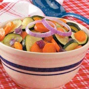 Sautéed Carrots and Zucchini Recipe