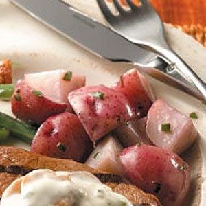 Basil Red Potatoes for 2 Recipe