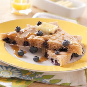 Baked Blueberry Pancake Recipe