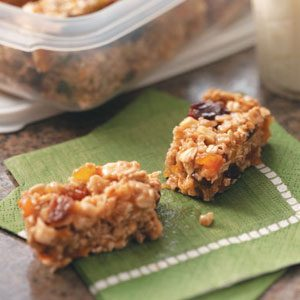 On-The-Go Granola Bars