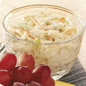 Creamy 'n' Tangy Coleslaw Recipe