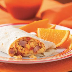 Ham 'n' Egg Burritos Recipe