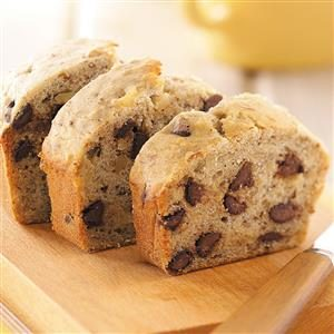 Banana-Chip Nut Bread